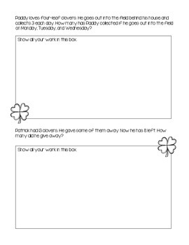 March-Themed CGI Word Problems