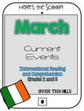 March Themed Informational Reading Passages/Comprehension