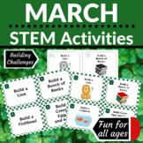 STEM Activities   March Building Challenges