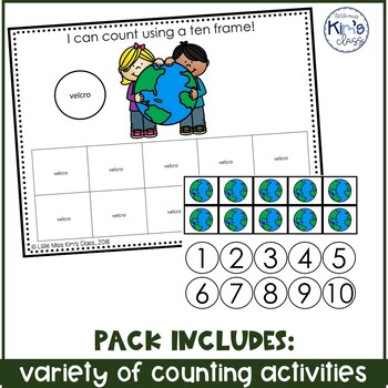 March Themed Math Centers