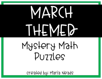 March Themed Mystery Pictures