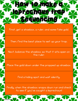 March Themed Sequencing Freebie