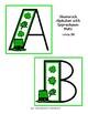 March-Themed Shamrock Alphabet - 6 Variations!