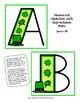 March Shamrock Alphabet - 6 Variations!