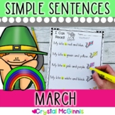 March Themed (Simple Predictable Sentences for Beginning Readers)