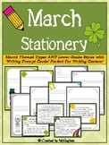March Themed Stationery {FREEBIE}