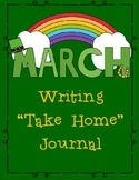March Themed Home or Classroom Writing Journal