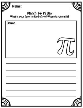 March Themed Writing Prompts for Elementary Students