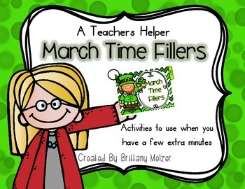 March Time Fillers