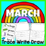 March Trace Write Draw