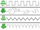 March Tracing Strips