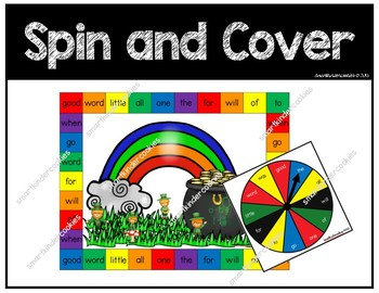 March Tricky Word Spin and Cover