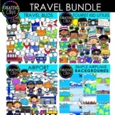 Travel Clipart Bundle (Formerly March VIP 2021)