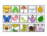 Spring Vocabulary Cariboo Cards