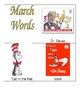 March Vocabulary Words for the Writing Center