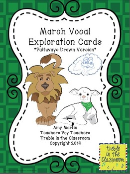 March Vocal Exploration Cards