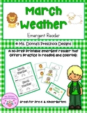March Weather Emergent Reader