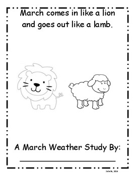 March Weather Study: Lions and Lambs