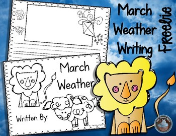 March Weather Writing FREEBIE