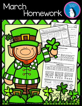 March Weekly Homework Packets - Intermediate Grades