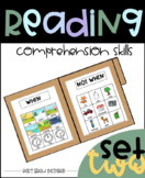 Basic Reading Comprehension Skill Builders: Set two