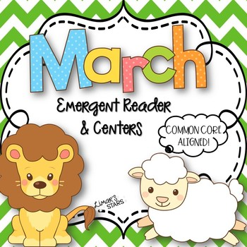 March Wind Blows Emergent Reader