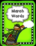 March Word Bank--Visual Style:)
