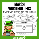 March Word Builders Freebie Pack!