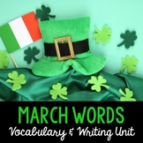 March Word Cards and Word Walls {in English and Spanish}