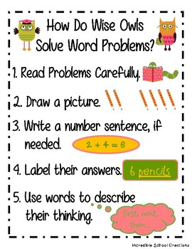 March Word Problem Packet