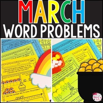 No Prep: March Themed Word Problems