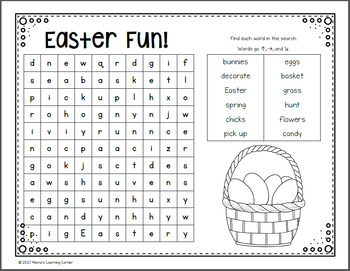 March Word Searches