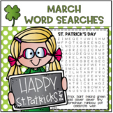 March Word Searches...Print and Go!