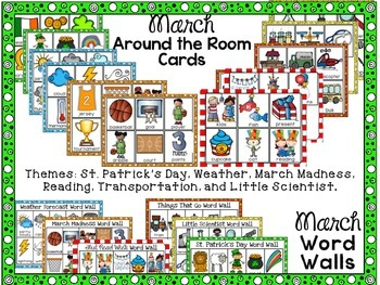 March Word Work AND Work on Writing
