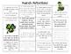 March Word Work Activities