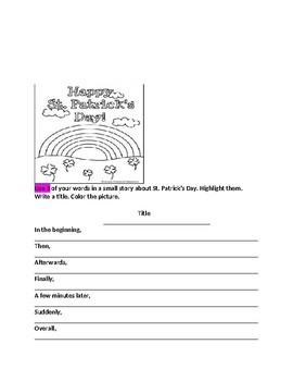March Words Their Way Class Booklet