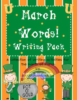 March Words Writing Pack!