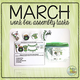 March Work Box Assembly Tasks