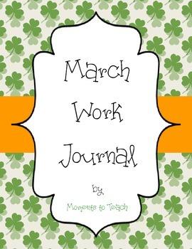 March Work Journal
