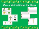 March Write and Stamp the Room