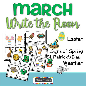 March Write the Room Bundle