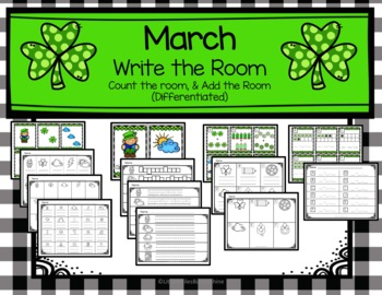 March Write the Room, Count the Room, Subtract the Room