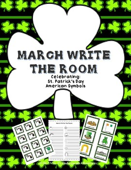 March Write the Room - Differentiated