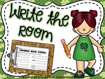 March Write the Room (St. Patrick's Day)