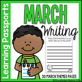 March Writing Prompts - Learning Passport