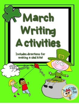 March Writing Activities including St. Patricks Day