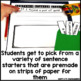 March Writing Activity: Interactive Sentence Starters