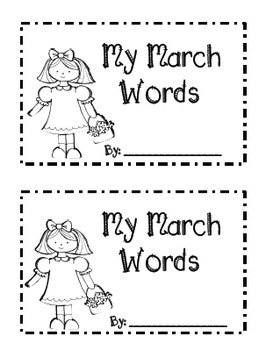 March Writing Booklet-