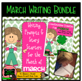 March Writing Bundle (Conversation Starters, Morning Meeti