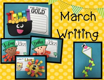 March Writing By The 2 Teaching Divas